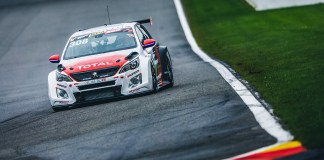 La Peugeot 308TCR-endurance remporte la deuxième place pour une première mondiale au TCR SPA 500