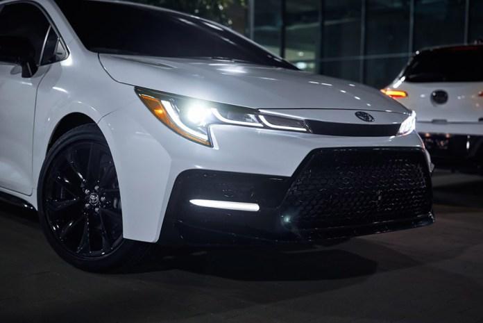 Toyota Corolla Nightshade