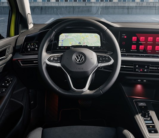 Volkswagen Golf 8 - Nouveau Digital Cockpit