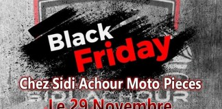 Sidi Achour Motos Pièces Black Friday