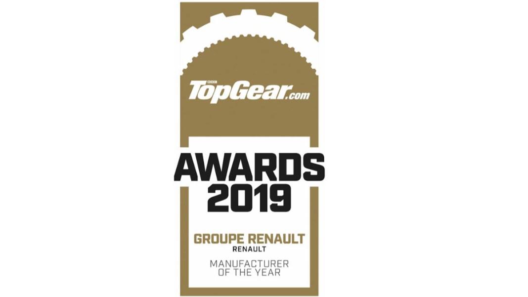 2019 - Top Gear - CONSTRUCTEUR DE L'ANNÉE