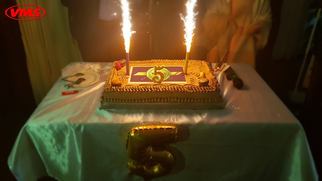 VMS fête son cinquième anniversaire