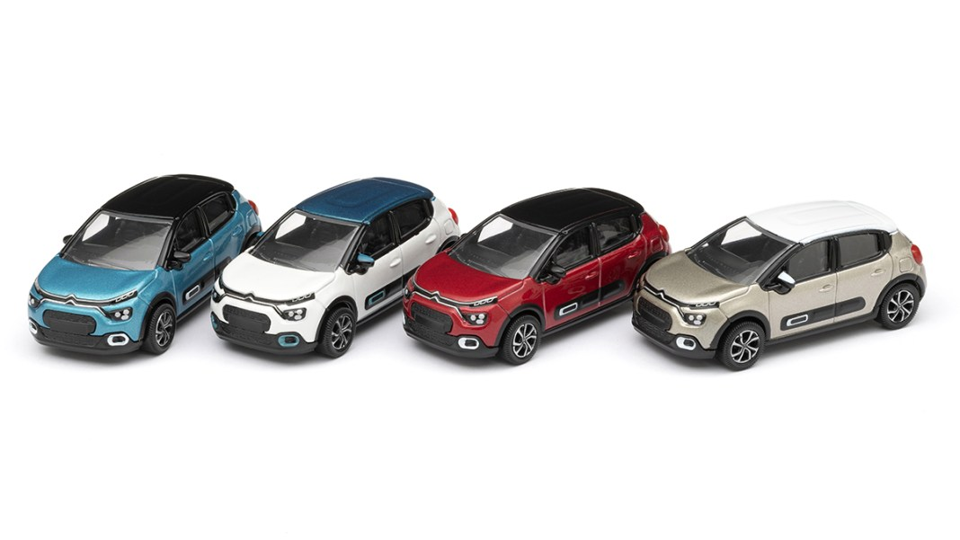 Nouvelle Citroen C3 rejoint le catalogue des miniatures Citroen