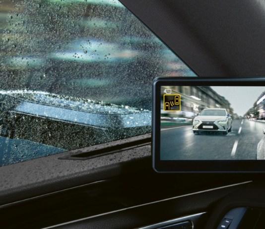 Lexus rétroviseur digital