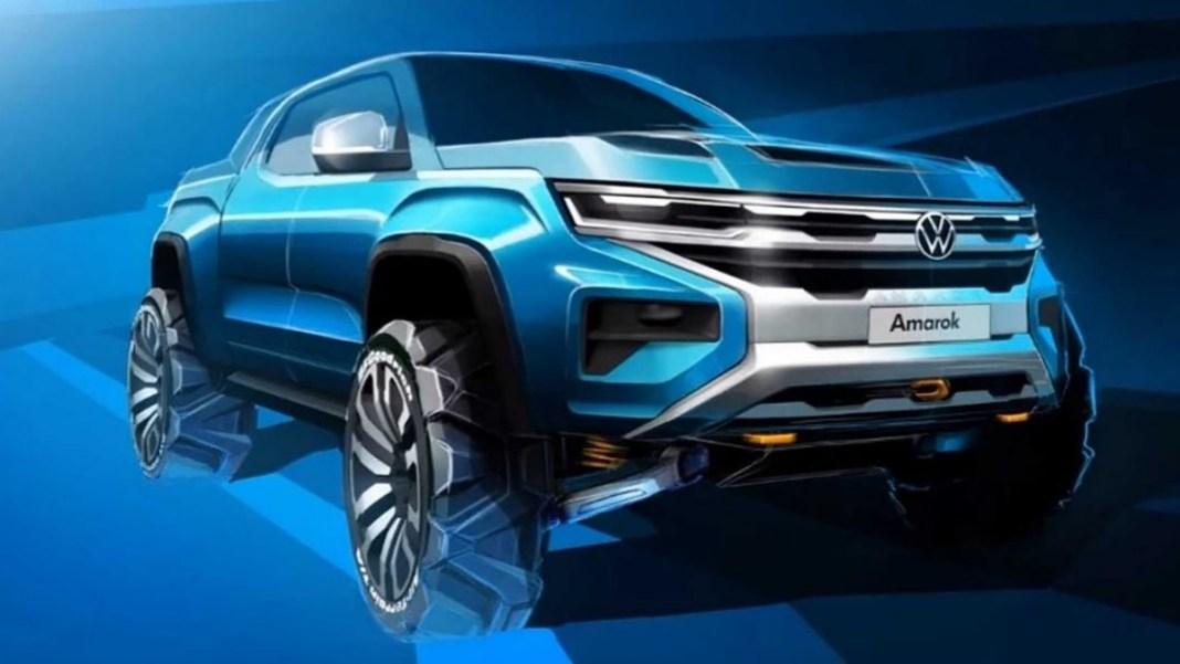 Volkswagen Amarok 2022 - teaser