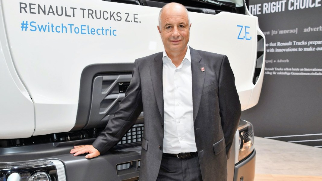 Bruno Blin, PDG Renault Trucks