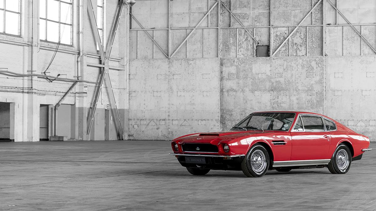 Aston Martin Celebrates Vantage 70 S Years Motors Actu