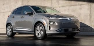 Hyundai Kona électrique remporte le prix du Véhicule utilitaire vert de l'année 2020 de l'AJAC