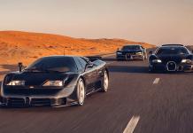 Bugatti EB110, Veyron, Chiron la trilogie de l'ère moderne Bugatti