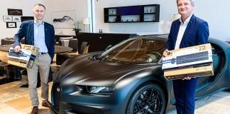 Bugatti contribue à l'initiative de la Librairie LDE et de la Fondation Passions Alsace
