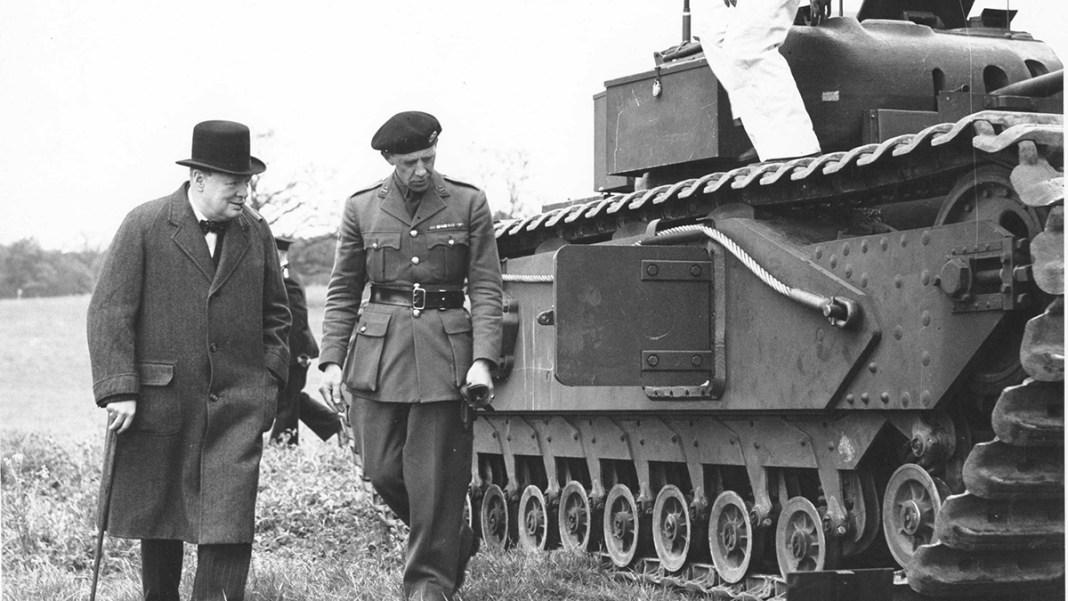 Churchill-Tank