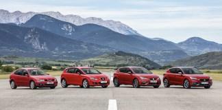 Les 4 générations de SEAT Leon racontent une histoire d'innovation qui s'étend sur plus de 20 ans