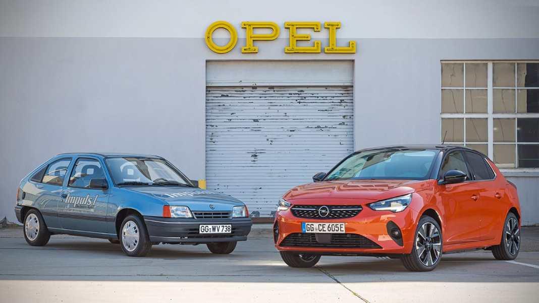Avant l'Opel Corsa-e, la Kadett Impuls I : l'électrique chez Opel il y a 30 ans