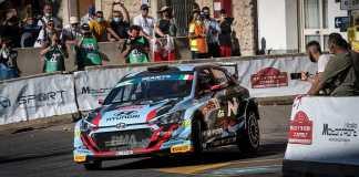 Rally di Roma Capitale : Solide prestation de l'équipe Hyundai i20 R5