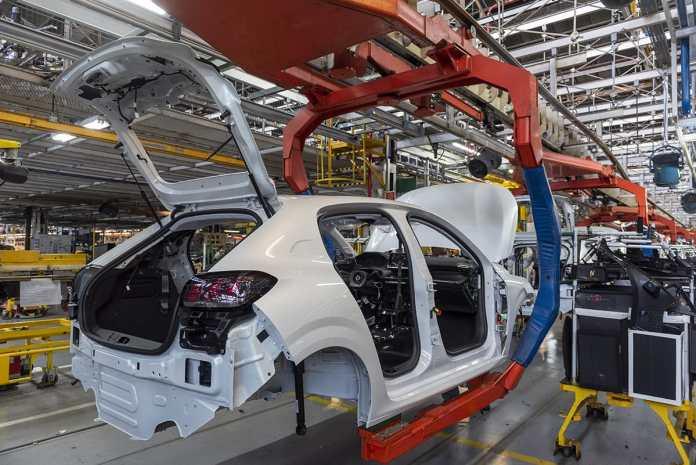 La production en série de la nouvelle PEUGEOT 208 à démarré à l'usine d'El Palomar en Argentine