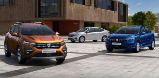 Nouvelles Dacia SANDERO SANDERO STEPWAY et LOGAN