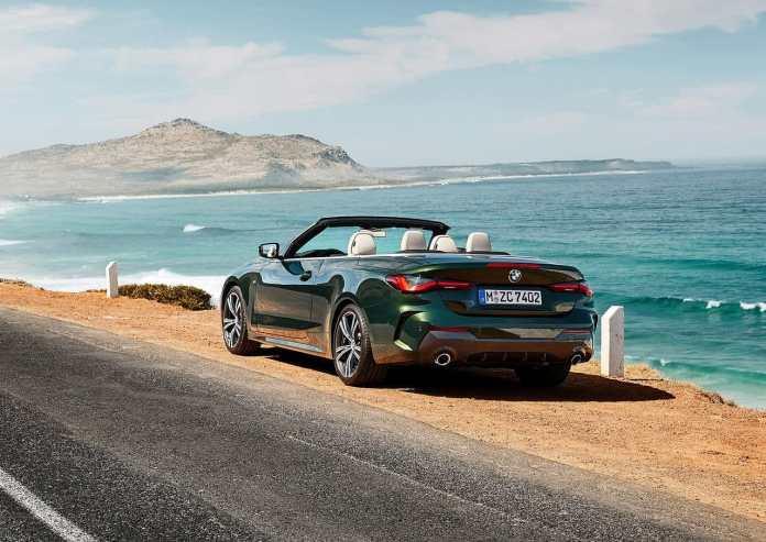 Nouvelle BMW Série 4 Cabriolet 2021