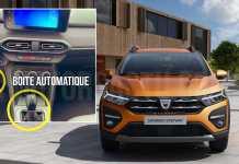 Dacia Sandero 2021 boite automatique