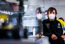 Fernando Alonso et Renault DP world F1 Team commencent le travail en vue de 2021
