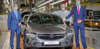 Opel Insignia - usine de Rüsselsheim
