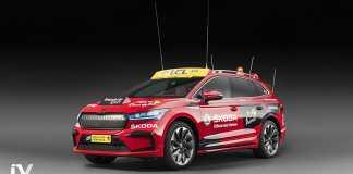 Skoda ENYAQ iV au Tour de France 2020