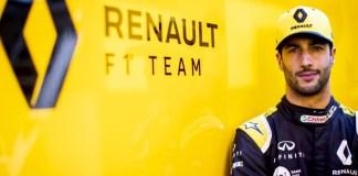 DANIEL RICCIARDO - Renault F1 Team