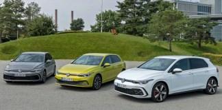 Nouvelles Volkswagen Golf 1.0 eTSI, Golf eHybrid et Golf GTE
