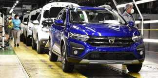 Nouvelle Dacia Sandero Stepway 2021 : début de la production à l'usine de Mioveni (Roumanie)
