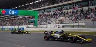 Renault DP World F1 Team a inscrit six points ce dimanche au Grand Prix Heineken du Portugal de Formule 1 2020