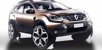 Dacia Duster 2021 badgé Renault