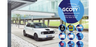 Honda E élue «German Car of the Year 2021»
