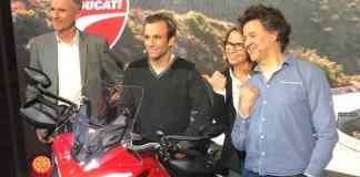 Denis Brogniard, Johann Zarco rt Laurence Etoubleau - Ducati
