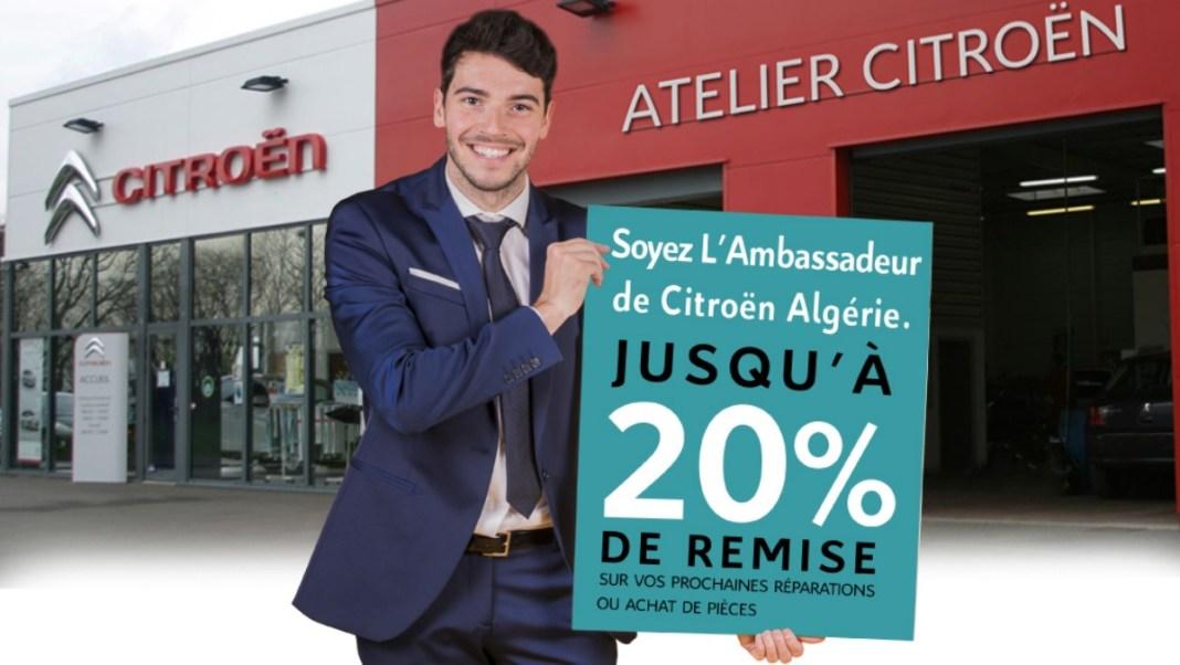 Offre Parrainage - Citroen Algérie