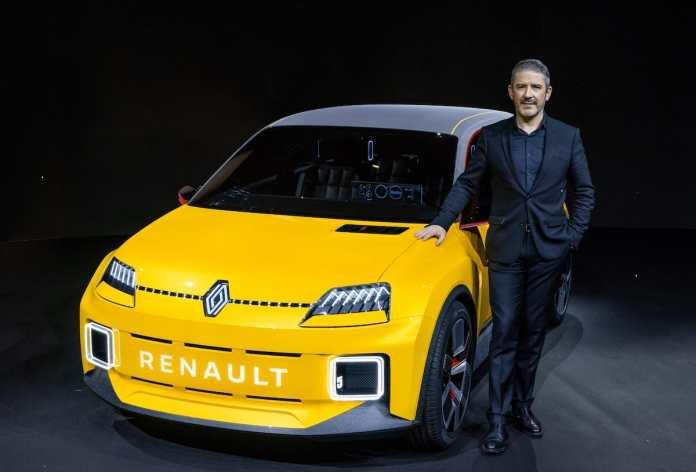 Renault 5 Prototype et Gilles VIDAL, designer