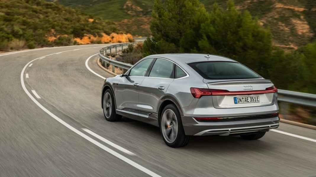 Audi e-tron Sport back