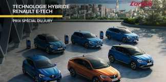 La technologie E-Tech Hybride révolutionnaire de Renault mise à l'honneur lors des trophées de l'Argus 2021