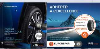 Peugeot Algérie Iris Tyres