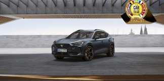 La CUPRA Formentor compte parmi les sept finalistes du prestigieux titre « Car of the Year » 2021