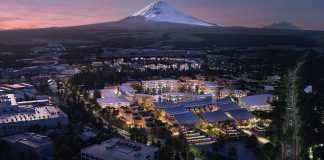 Toyota pose la première pierre de Woven City, la ville du futur
