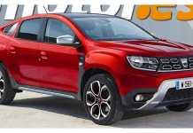 Dacia Duster coupé 2022