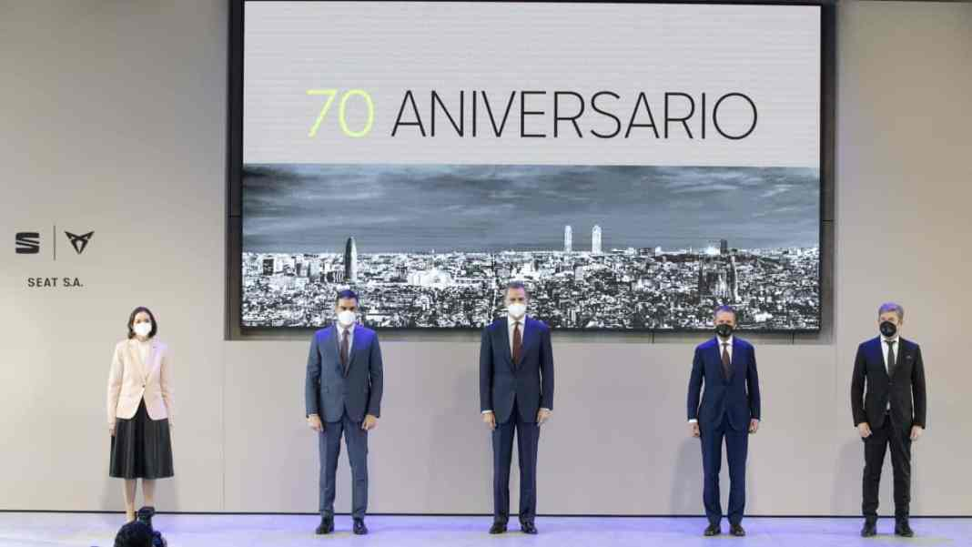 70ème anniversaire de Seat