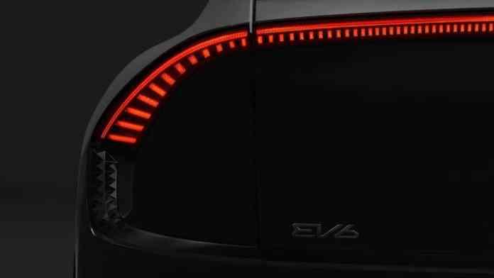 KIA EV6 - teaser