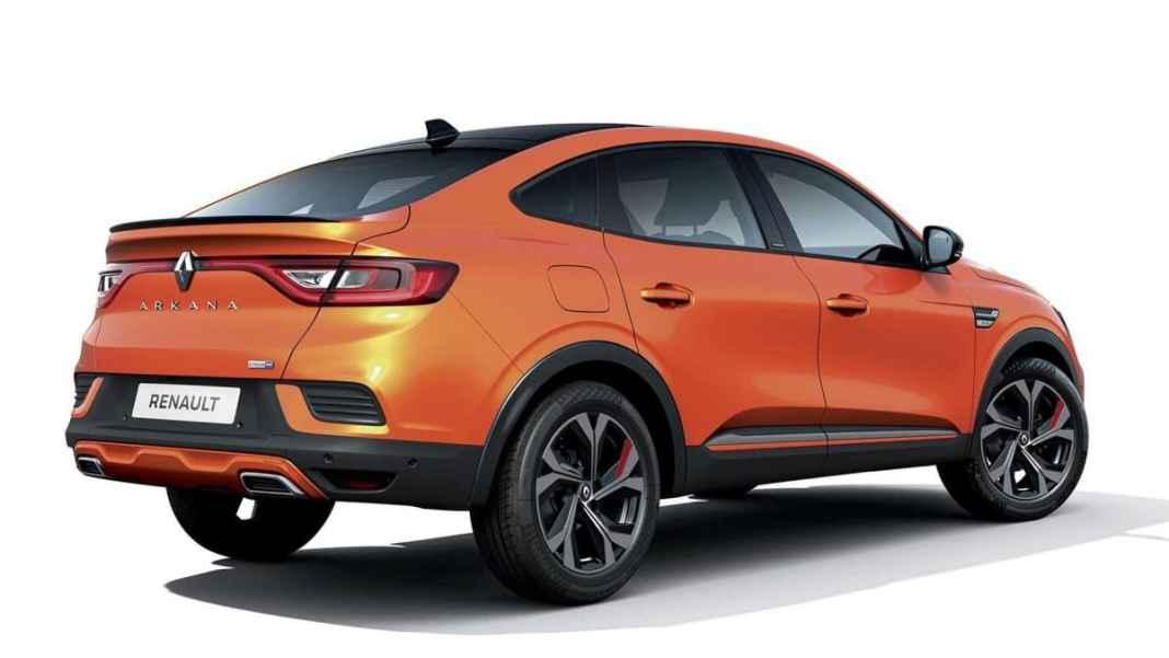 Nouveau Renault Arkana 2020