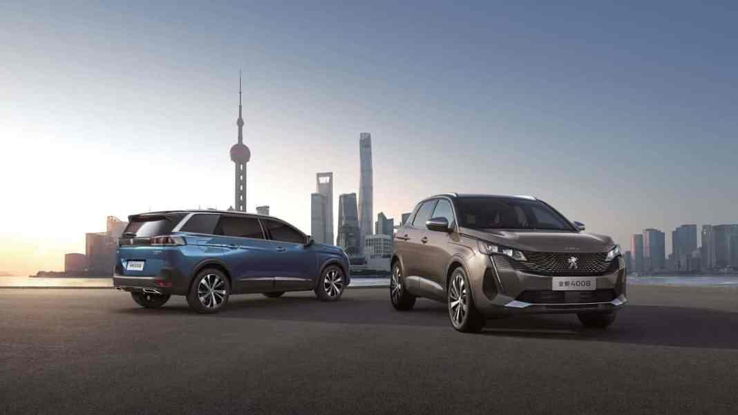 Peugeot - salon de Shanghai 2021