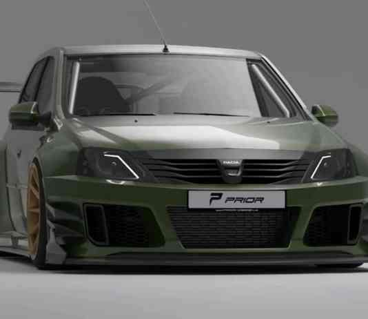 Dacia Logan by Prior Design