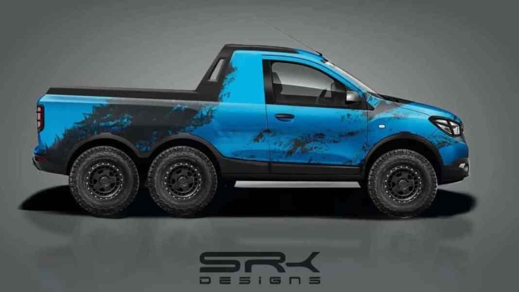 Dacia Lodgy 2021 - SUV 6X6 - by SRK Designs