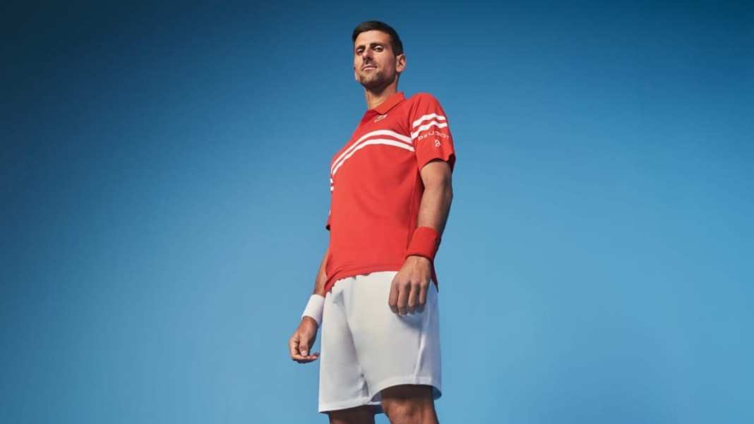 Novak Djokovic - campagne publicitaire 508 PEUGEOT SPORT ENGINEERED