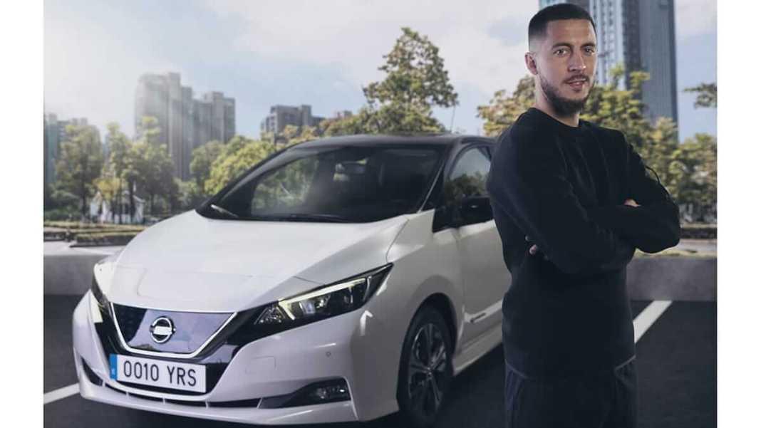 Le footballeur Eden Hazard rejoint le mouvement #ElectrifyTheWorld de Nissan