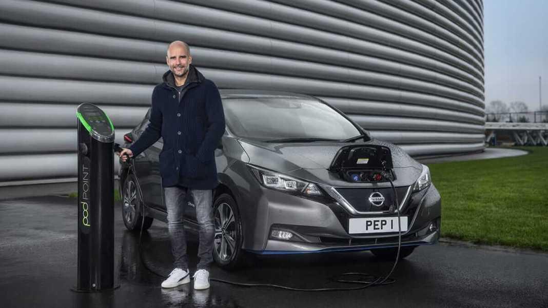 Pep Guardiola : Ma vie en Nissan LEAF