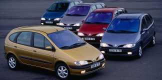 Renault Scénic fête ses 25 ans